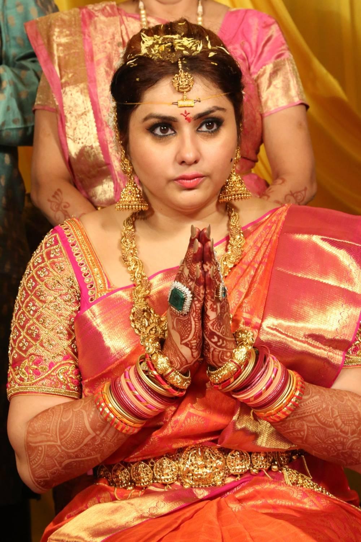 Bigg Boss Contestent Namitha Wedding Photos
