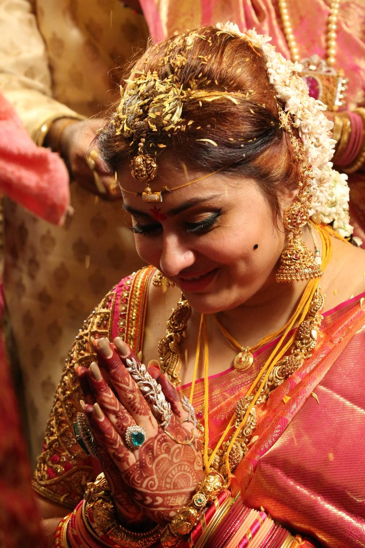 Namitha got married to Veerandra Photos