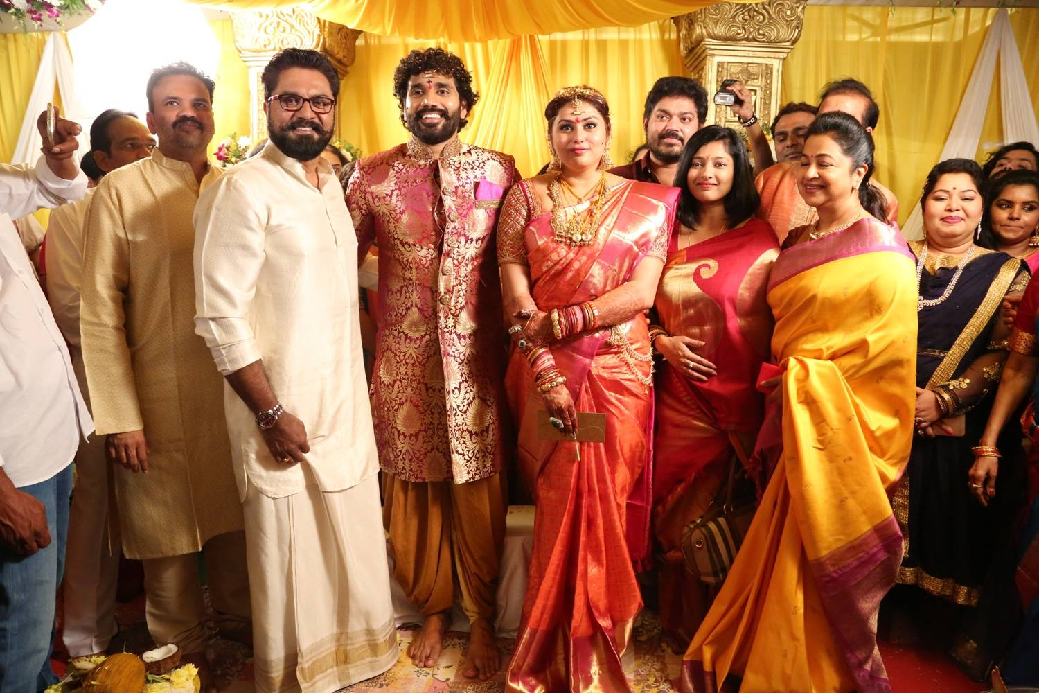 Namitha Marriage Images, Veerandra Marriage Marriage