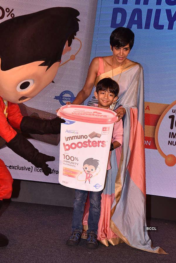 Mandira Bedi at ActivKids Immuno Boosters launch