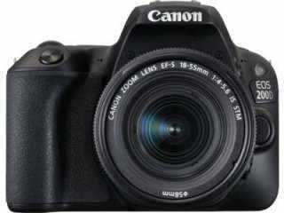 Compare Canon EOS 200D (Body) Digital SLR Camera vs Nikon