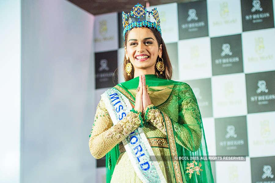 Miss World 2017 Manushi Chhillar's first press conference