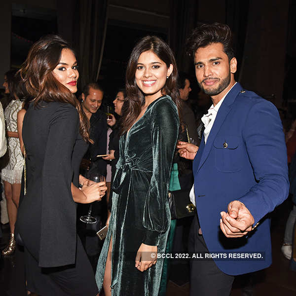 Models, designers and other celebrities attend Miss World 2017 Manushi Chhillar's welcome party