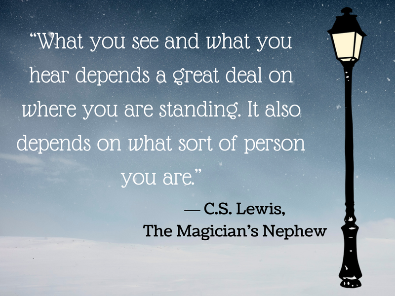Image result for images CS Lewis perception