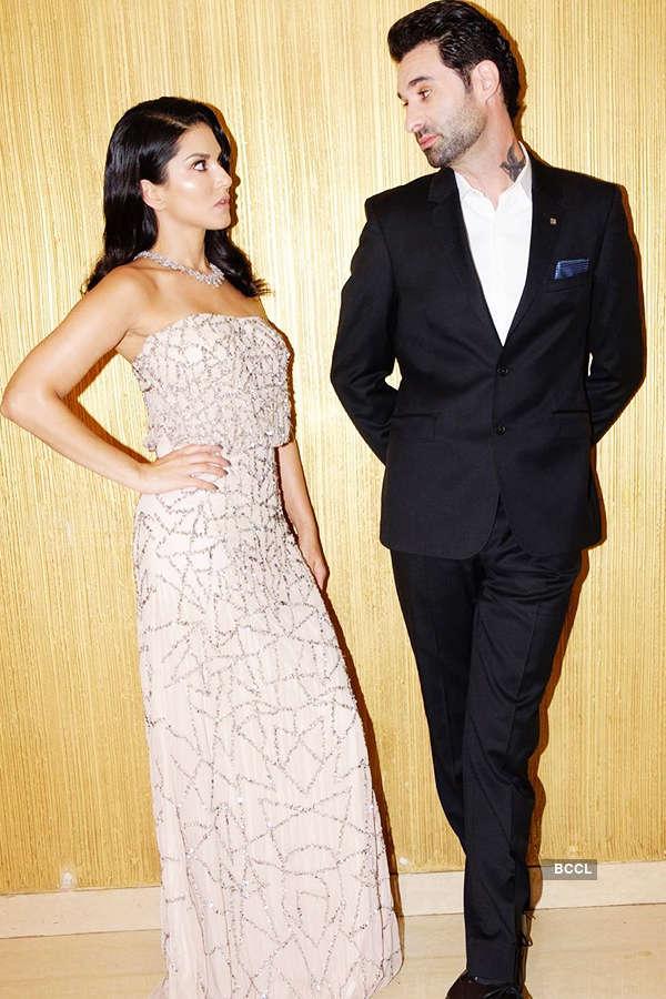 Sunny Leone and Daniel Weber
