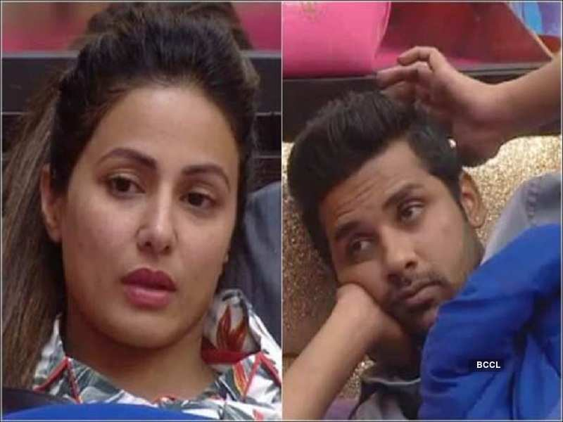 When Hina commented on Puneesh Sharma