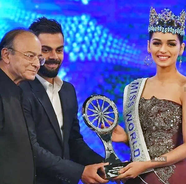 Miss World 2017 Manushi Chhillar makes heads turn with her swimsuit pictures