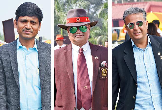 (L) Sameer Shaikh (C) Vinod Sharma (R) Amar Habibullah (BCCL/ Vishnu Jaiswal)