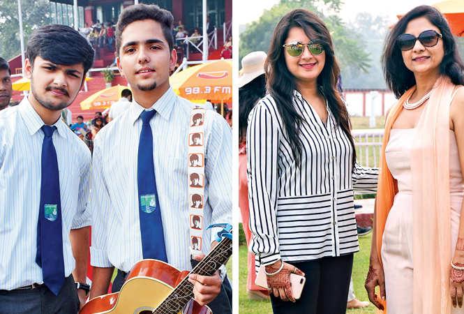 (L) Vishesh and Ojaswi (R) Aarushi Gupta and Shalini (BCCL/ Vishnu Jaiswal)