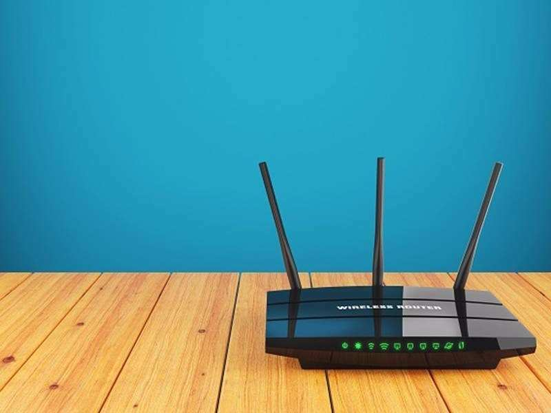 Don't place the router in an enclosed space