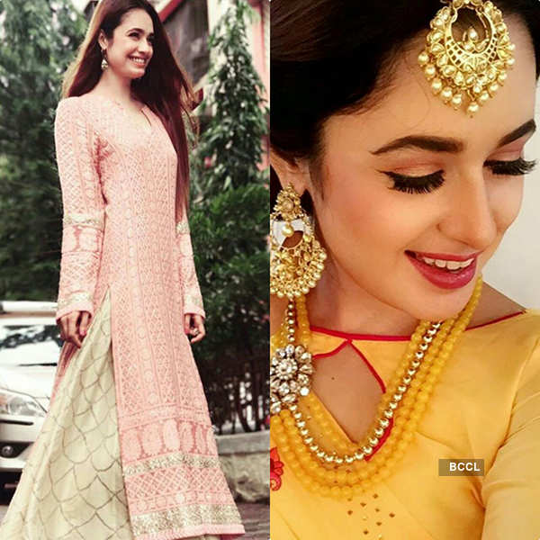 TV actresses will help you to look unique this wedding season!