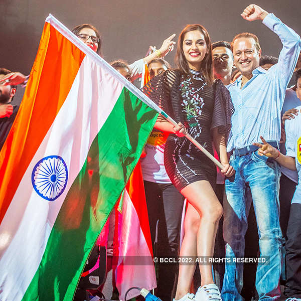Miss World 2017 Manushi Chhillar at Hardwell concert