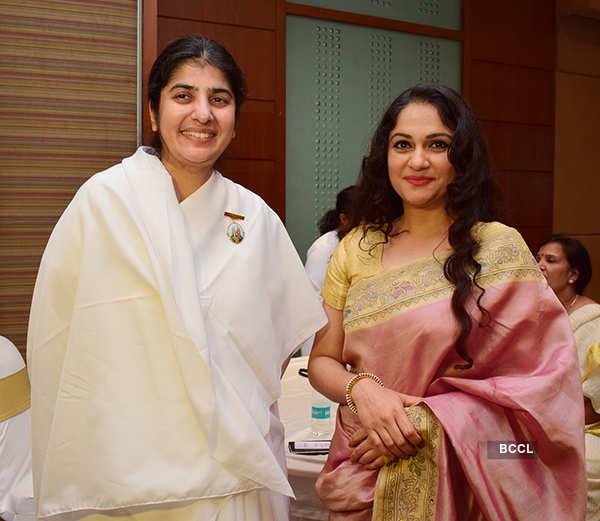 Celebs at Brahma Kumari's event