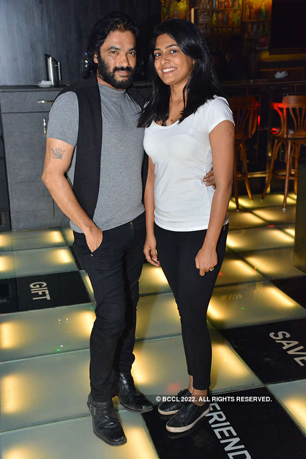 Prem and Sanjana hang out at 657 Wall St. Bar & Kitchen