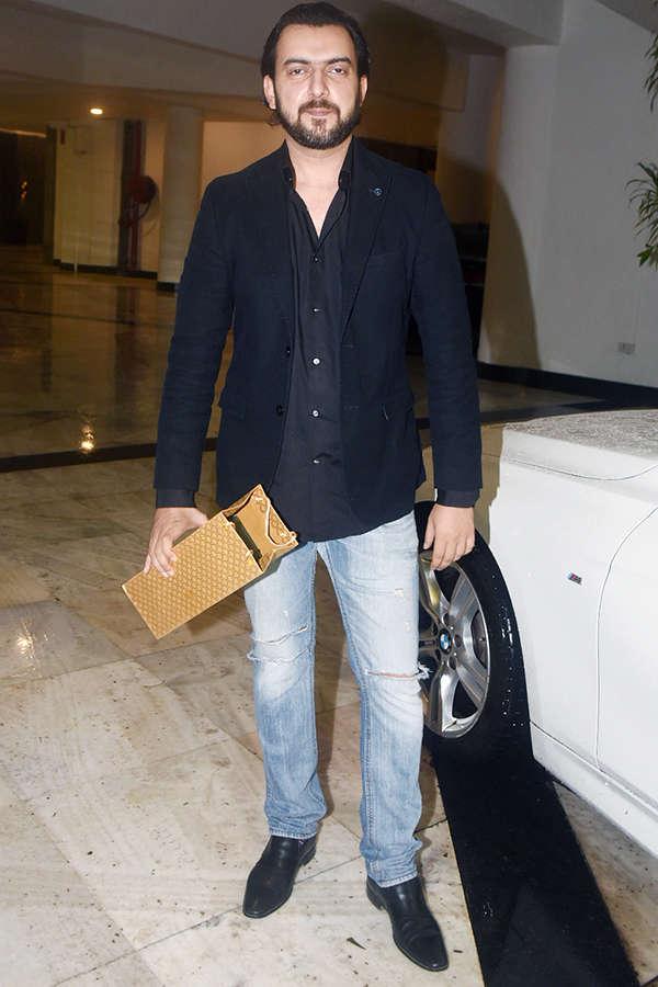 Bollywood celebrities attend Manish Malhotra's starry birthday party