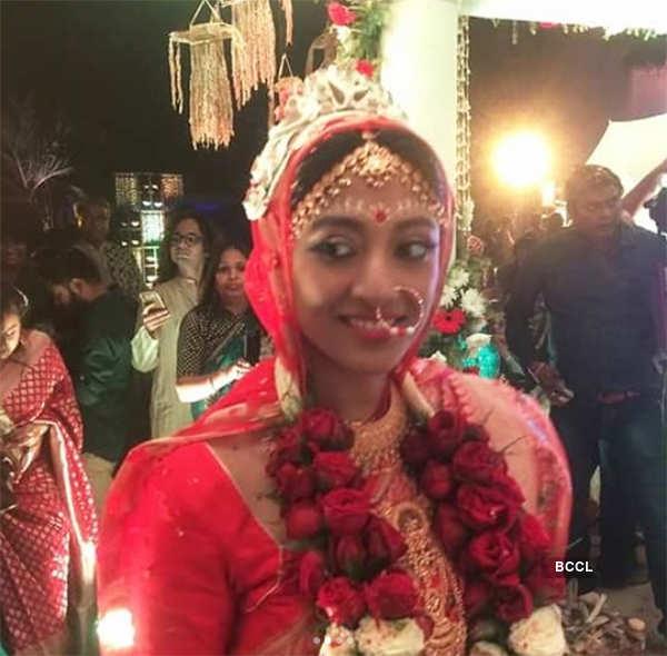 Paoli Dam on her wedding