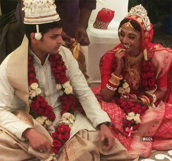 Paoli Dam's wedding