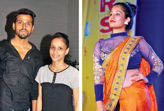 Vivek and Kashika (R) Ekta (BCCL/ Arvind Kumar)