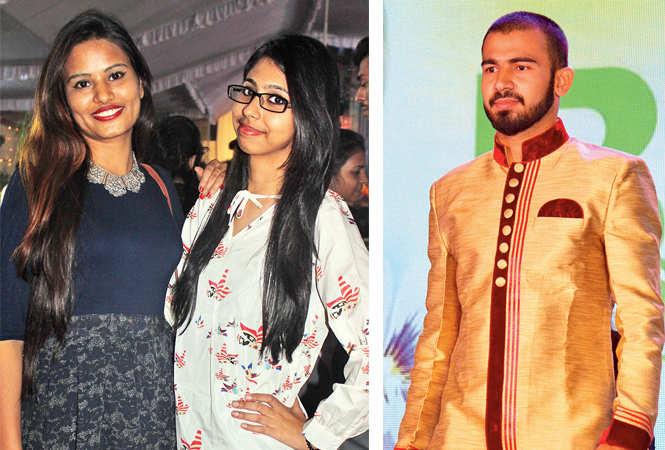 Anchita (L) and Shiwani (R) Amit (BCCL/ Arvind Kumar)