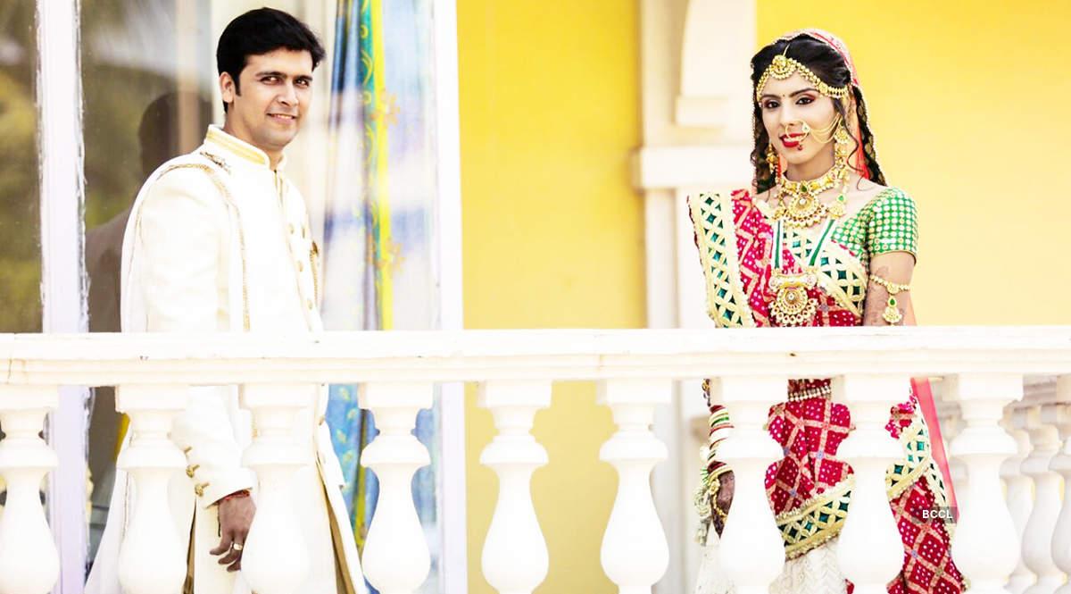 Ghazal Rai and Krunal Sodha's shoot for wedding