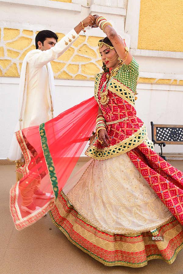Ghazal Rai and Krunal Sodha's wedding photoshoot