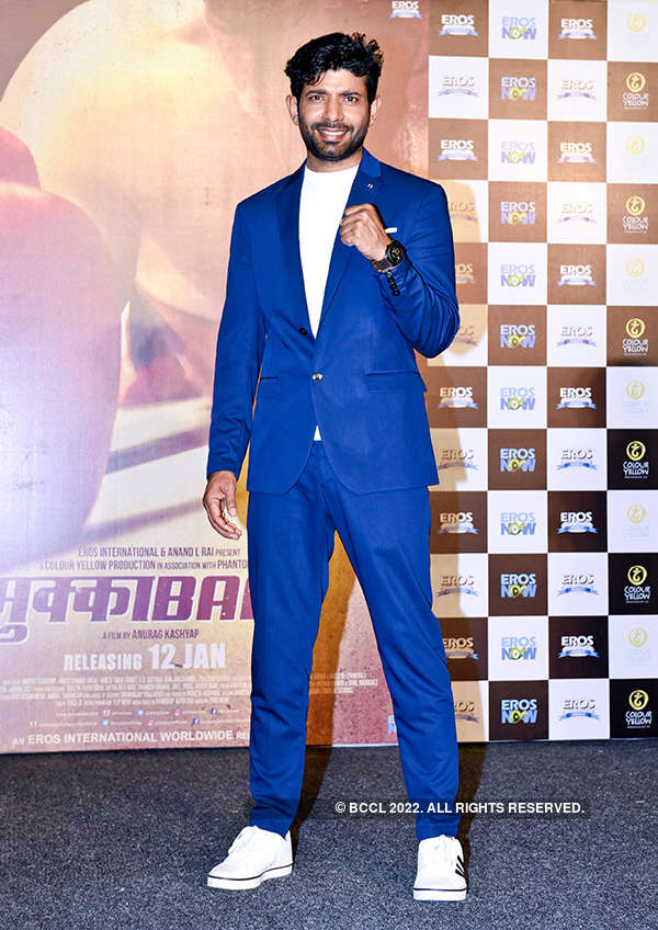 Mukkabaaz: Teaser launch