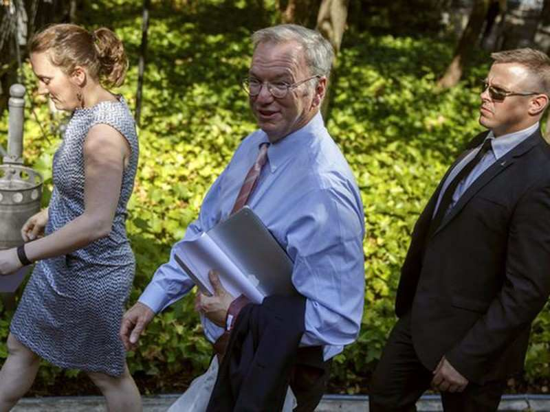 Eric Schmidt, executive chairman of Google parent Alphabet: Sees 'enormous value' in the currency