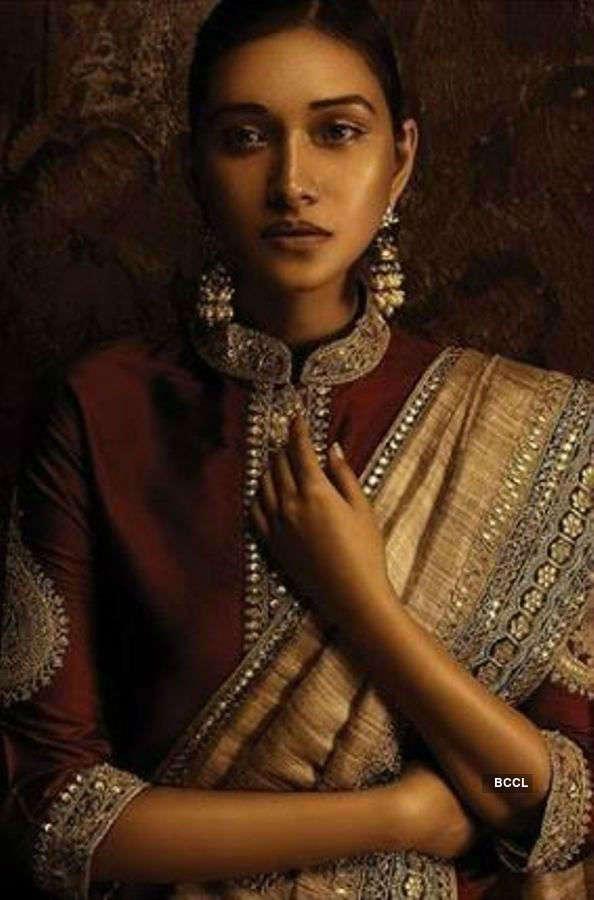 Aradhana Buragohain stuns in an ethnic couture shoot