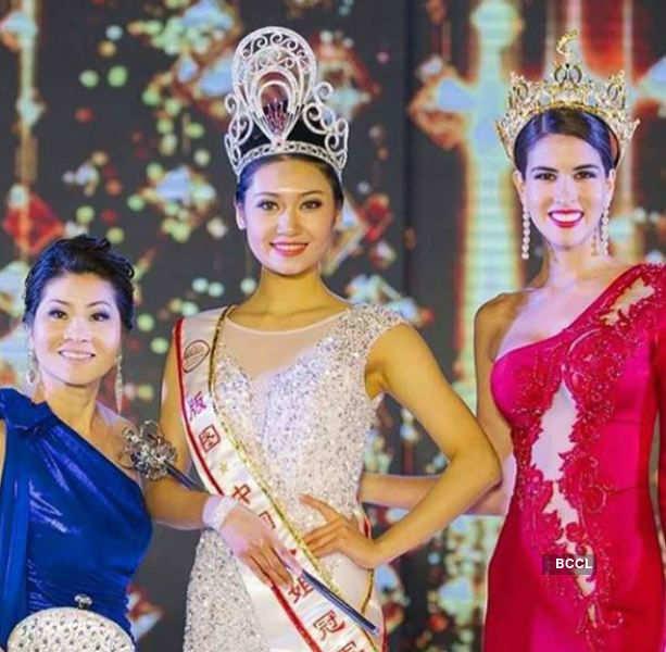 Wanxin Xing of Beijing crowned Miss Grand China 2018