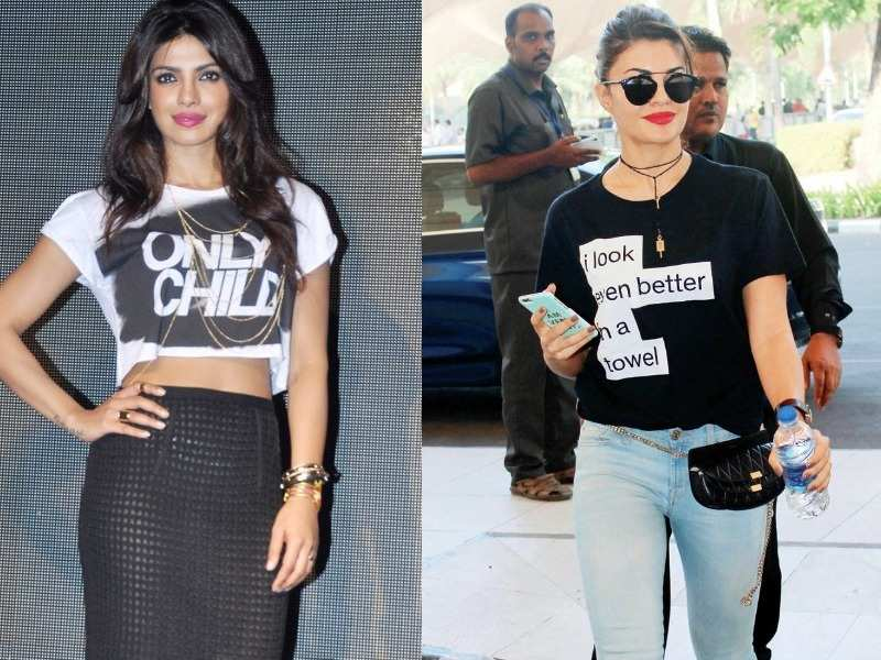 Slogan T-shirts: 8 times these B-Town divas wore their attitude on
