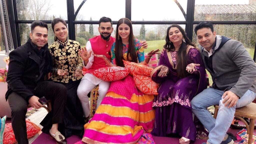 Virat Kohli and Anushka Sharma get married