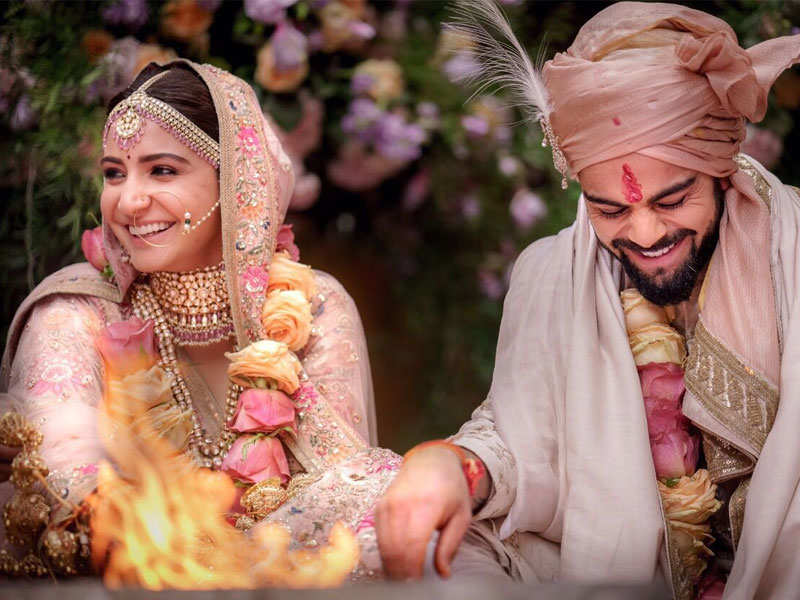 Anushka Sharma and Virat Kohli's wedding pictures to be sold for ...