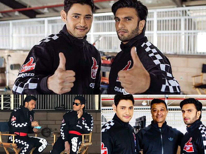 Pics: Ranveer Singh and Mahesh Babu come together for an ad shoot - Bollywood celebs' Instagram pics you should not miss!  | The Times of India