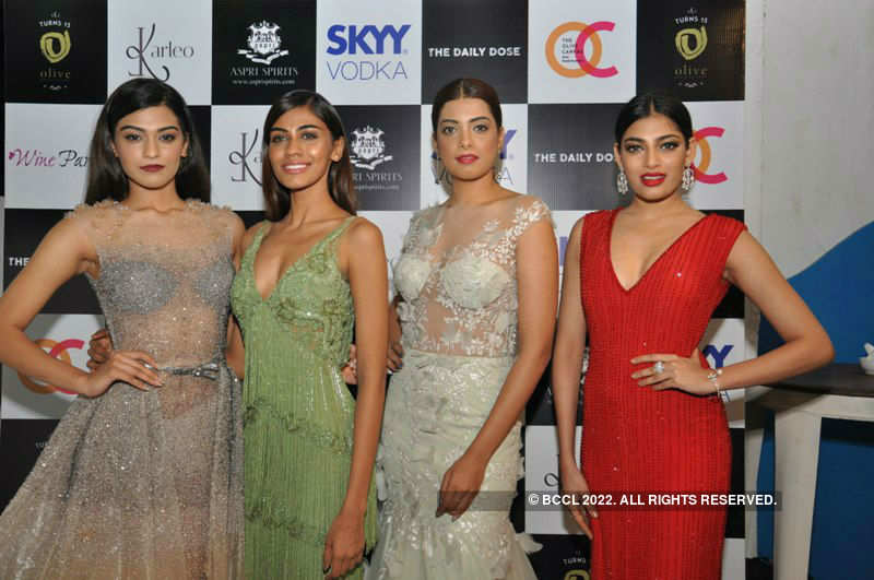 Beauty Queens at Karleo Festive Fashion Preview
