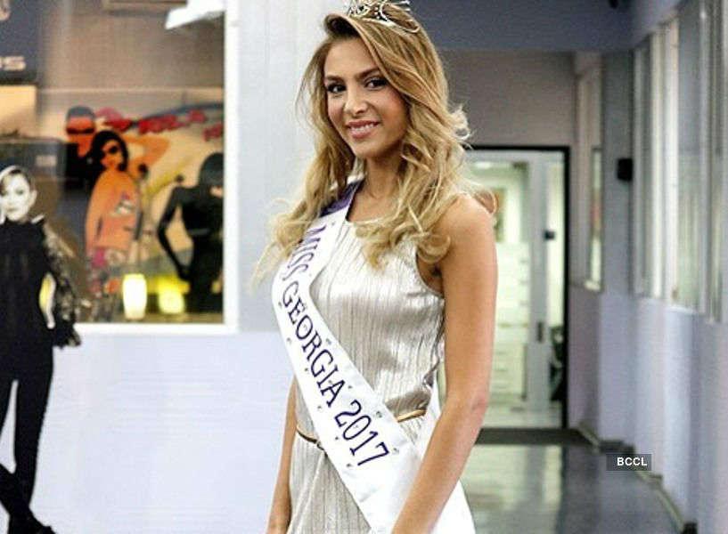 Nia Tsivtsivadze crowned Miss Georgia 2017