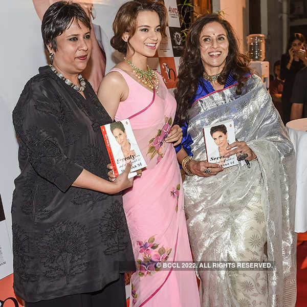 Kangana Ranaut launches Shobhaa De's book
