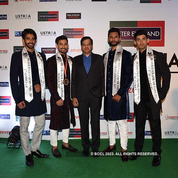 Peter England Mr. India 2017: Arrivals
