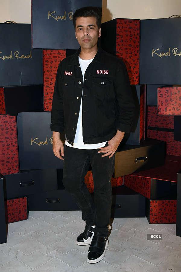 Shahid, KJo attend Kunal Rawal's store launch