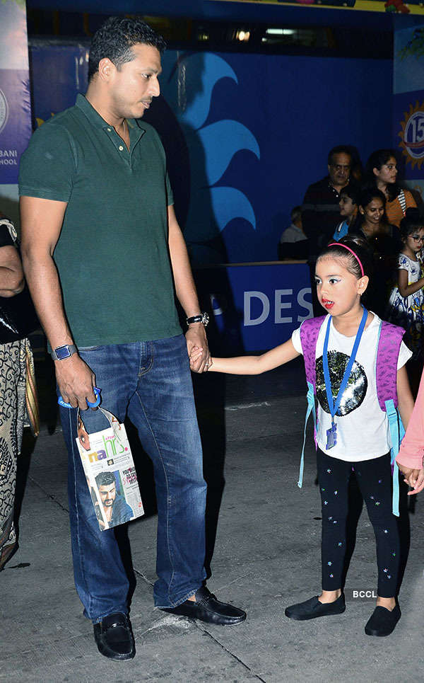 Celebs @ Dhirubhai Ambani school's annual day