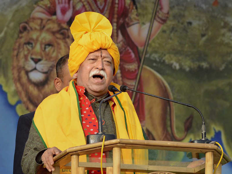 Anybody living in India is a Hindu: RSS chief