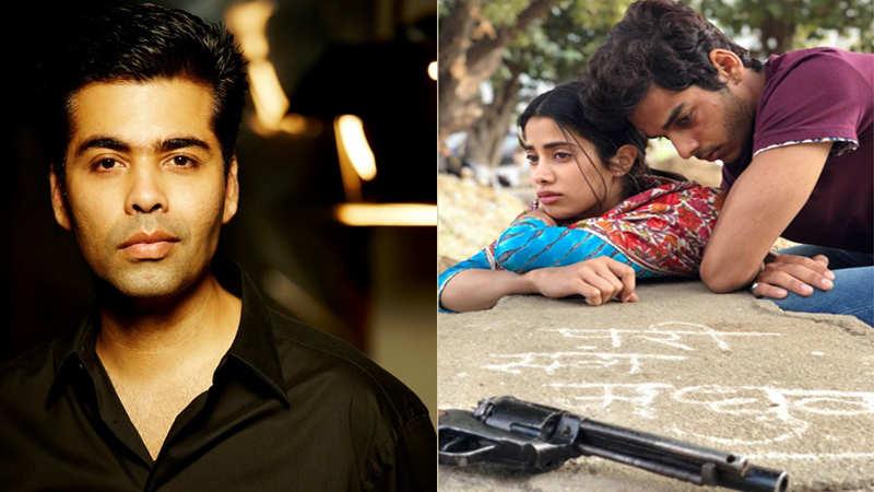 KJo shares new still from 'Dhadak'; Janhvi-Ishaan shoot intense scene