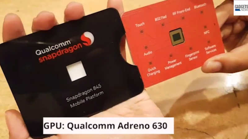 First Look: Qualcomm Snapdragon 845 processor