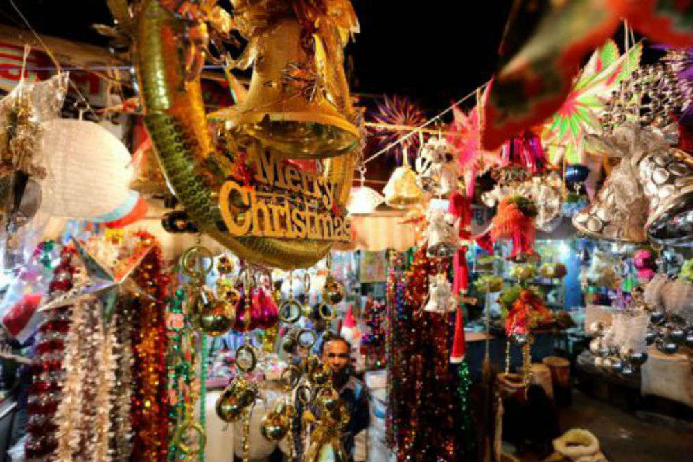 Image result for christmas market india