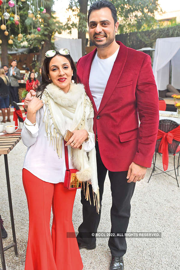 Afsana Cherian Kapoor and Rakshak Kapoor