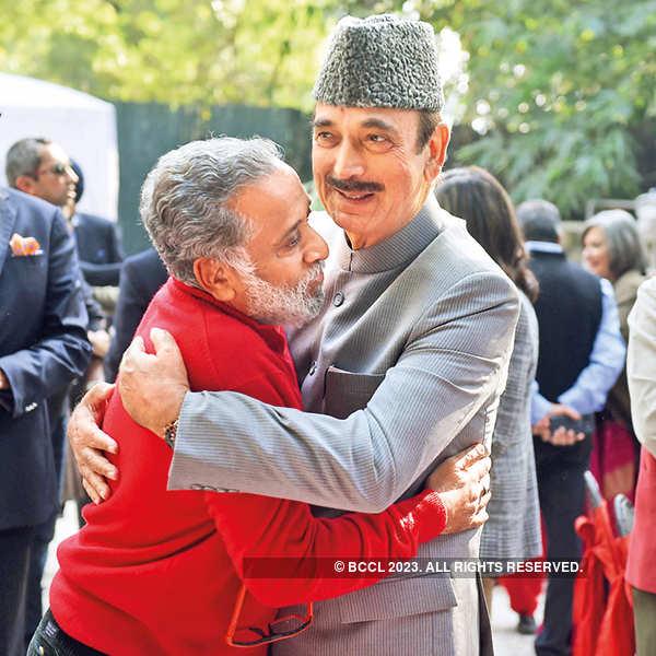 Dilip Cherian and Ghulam Nabi Azad