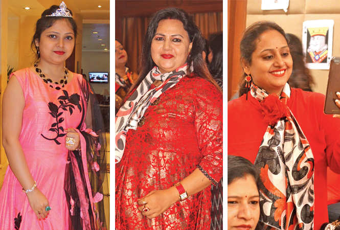 Pooja, Rishika and Anupama (BCCL/  Arvind Kumar)