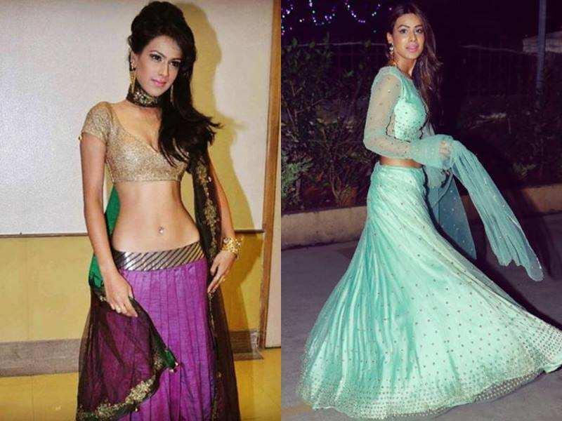 Nia Sharma Ethnic Wear Photos