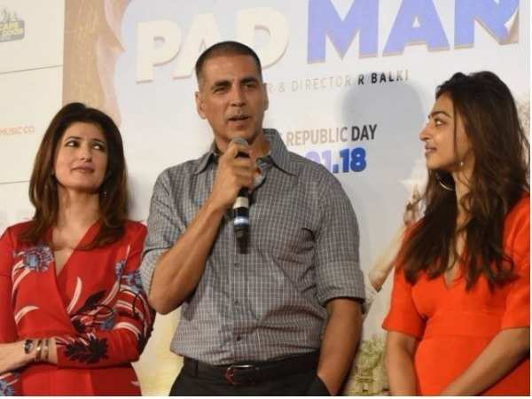 Bollywood celebs spotted at the song launch of 'PadMan'