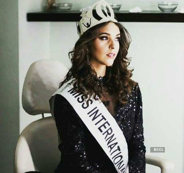 Claudia Moras Baez crowned World Miss University 2017