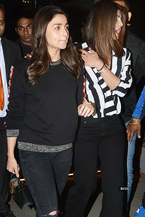 Priyanka bonds with Alia
